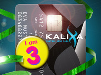 Kalixa celebrates 3rd birthday with free* card giveaway