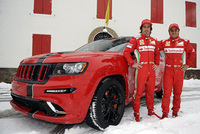 Ferrari-style Jeep Grand Cherokee SRT8 SUVs