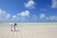 Brand new luxury African beach yoga and safari package