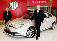 Britain's newest MG dealership opens