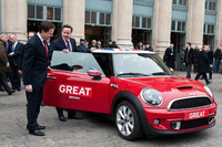 MINI adds horsepower to 'Great' Britain campaign in Paris