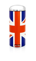 Limited edition 'Union Jack' Bin by Brabantia