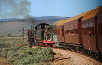 The Ghan's ANZAC Tribute