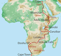 World Expeditions epic African journey: 112 days, 10 countries