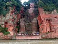 The Giant Buddha at Leshan