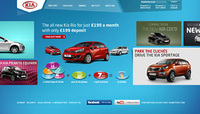 Kia smashes the 1 million visits barrier