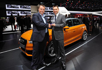 Audi A1 is named CarBuyer's Best Luxury Small Car 2012