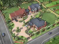 New homes in Shropshire for executive living
