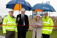 Margaret Curran MP opens £2m road for Bellway Homes