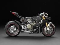 Ducati release naked images of the 1199 Panigale superbike