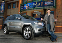 Tom Chambers takes delivery of new Jeep Grand Cherokee