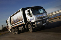 Renault Lander collects refuse contract for Transwaste