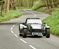 Caterham hire season fires up for 'staycation' summer