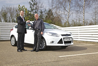 Facebook fan wins a Focus through Ford's 'Win a Car' competition
