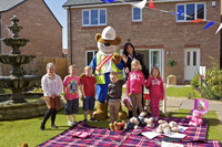 Family fun at new homes venture in Sherburn in Elmet