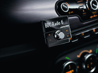 Alpine Digital Radio (DAB) adapter suitable for any car