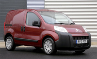 Citroen Nemo is Best City Van in Trade Van Driver Awards 2012