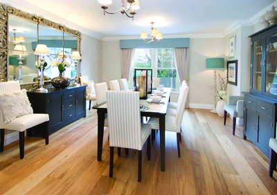 Semi Detached Show Home Dining Room