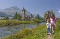 Summer in the Alps, ideal for families