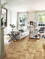 Retro-chic patterns for all interior styles with Kahrs wood flooring range