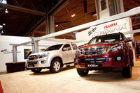 Isuzu D-MAX pulls the crowds at the CV Show