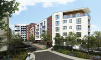 Brand new parkside apartments in Sudbury
