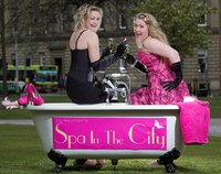 Curlers, pouts and pampering - Spa in the City