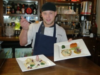 Kevin Dunn introduces Gadds Twon House new vegetarian dishes