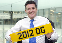 Celebrity status for DVLA personalised registrations auction