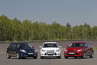 Ford Focus 1.0-litre EcoBoost sets 16 world speed records