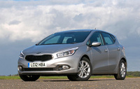 UK show debut for all-new Kia cee'd at Motorexpo