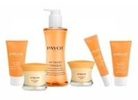 New line of face care products from Payot