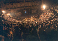 The Atmospheric Roman Theatre Aspendos