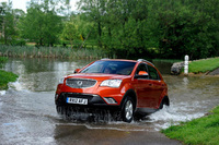 Ssangyong heads further off-road with new low priced Korando SX