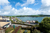 Views from Harbour Cottage in Cornwall