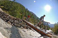 Hiking and biking in Val d'Isère: New trails for summer 2012