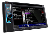 Kenwood multimedia system with DAB technology