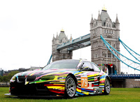 BMW Art Car Collection on show for first time in the UK