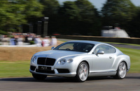Bentley wows crowds at the Goodwood Festival of Speed