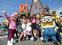 Despicable Me Minion Mayhem Ride