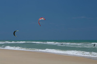 Kitesurfing in Northern Brazil