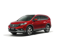 New British-built Honda CR-V breaks cover