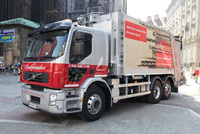 First Volvo FE Hybrid for the Austrian waste industry