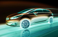 Kia Carens to debut at Paris Motor Show