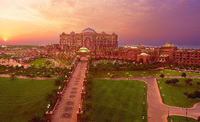 Emirates Palace is the perfect holiday haven