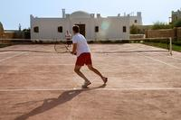 Anyone for tennis in Morocco?