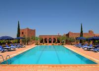 The lovely pool at Kasbah Angour