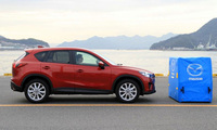 Mazda CX-5 praised for standard fitment of life-saving technology