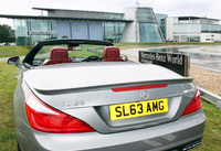 Mercedes-Benz SL honoured by DVLA personalised registrations
