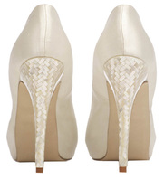 The new Mother of Pearl platform heel